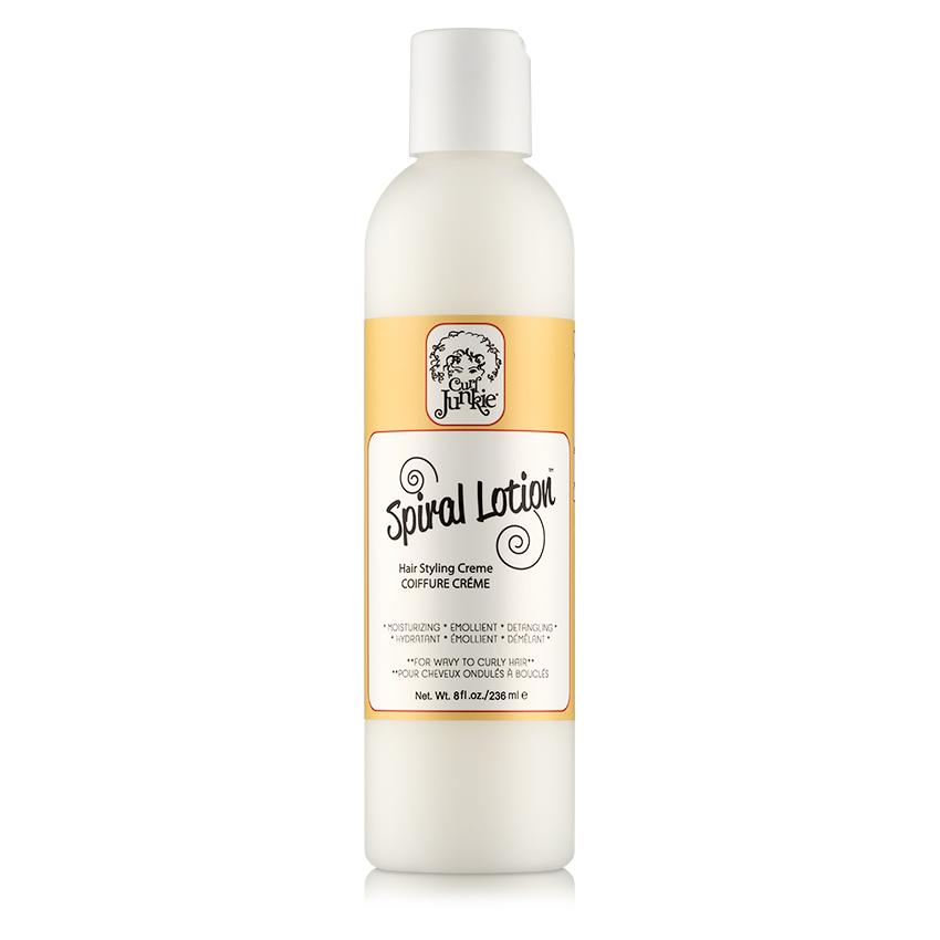 Fran 3b: Curl Junkie Spiral Lotion Hair Styling Creme