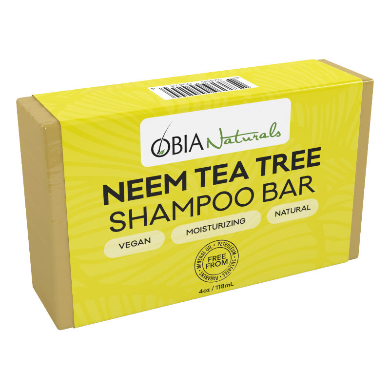 Shampoo Bar: OBIA Naturals Hair Care Neem & Tea Tree Shampoo Bar