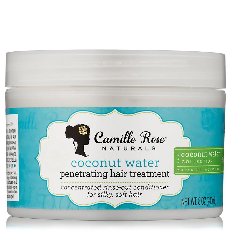 Lasandra 4b locs: Camille Rose Naturals Coconut Water Penetrating Hair Treatment