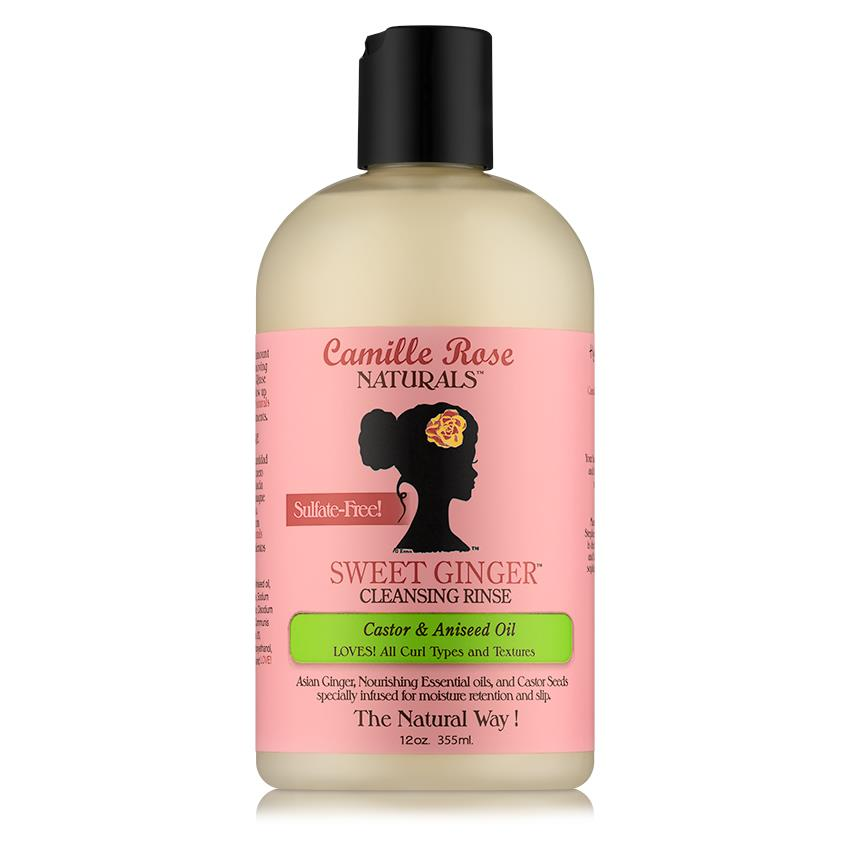 Shampoo: Camille Rose Naturals Sweet Ginger Cleansing Rinse