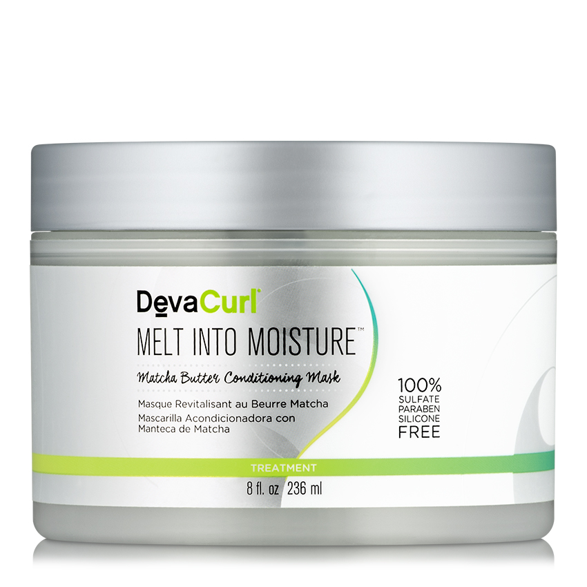 DevaCurl Melt Into Moisture Matcha Green Tea Butter Conditioning Mask