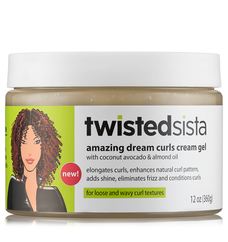 Fran 3b: Twisted Sista Amazing Dream Curls Cream Gel