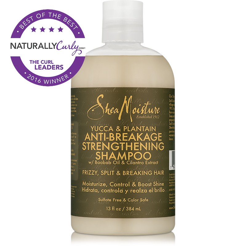 Shampoo: SheaMoisture Yucca & Plantain Anti-Breakage Strengthening Shampoo