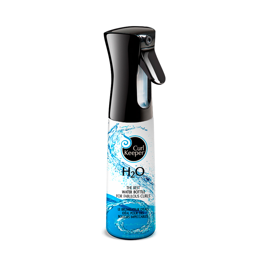 Alyssa 4c: Curly Hair Solutions H20 Water Bottle